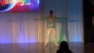 ABDA DANCERS MEHMET IRIS -WLDC MALE SALSA SOLOIST TURKEY 2014
