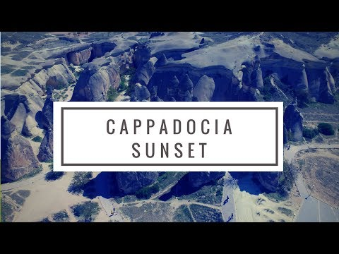 TravelwithDrone - Cappadocia Sunset Turkey 4K Drone Video #18