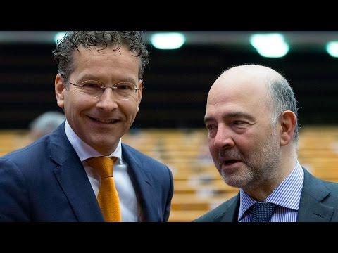 Ντάισελμπλουμ και Μοσκοβισί χαιρέτησαν, ενώπιον της Ευρωβουλής, τη βελτίωση της ελληνικής οικονομίας
