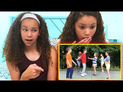 """Sierra & Olivia REACT to """"Dance Dance Dance Battle"""" by JoJo Johnson"""