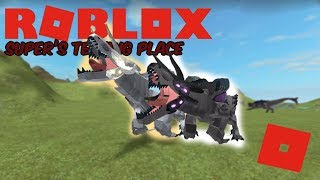 Roblox Super's Testing Place - New White Megavore and Roars!