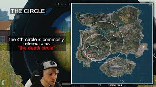 PUBG 101 Lesson 5: Map, Circle & Red Zone