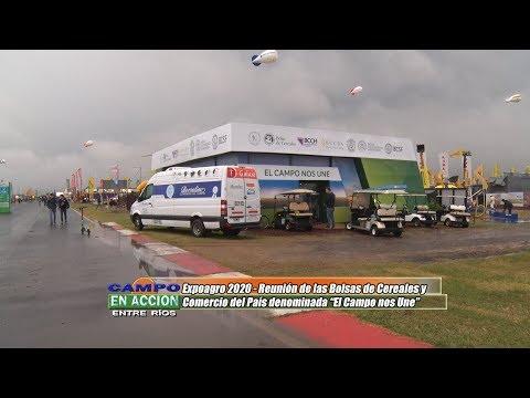 Nestor Luciani - Pte Bolsa de Cereales de Entre Ríos - BolsaCER en Expoagro 2020