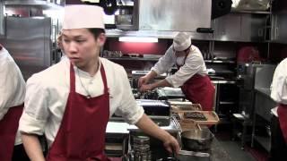 Busy at 3 Michelin star RyuGin in Tokyo