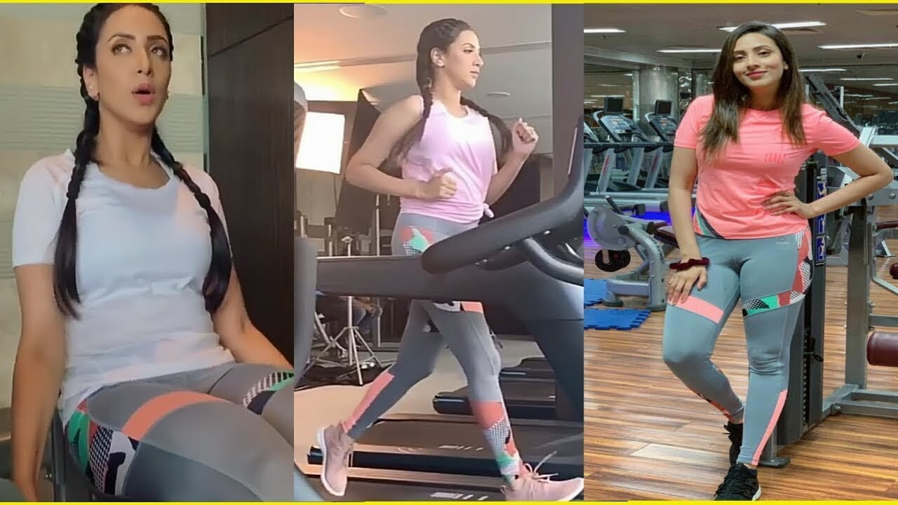 biddya sinha mim Gym I workout I Bangladeshi actress - YouTube