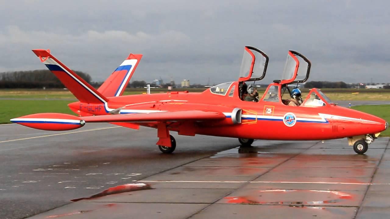 Dutch Fouga Magister F Glhf Youtube