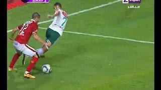 فيديو| لاعب المصرى يرد على مراوغة رمضان
