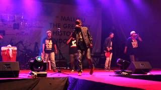 LIVE PERFORM Alifuru Hip Hop - Cuma Maluku (Pesta Teluk 2013)