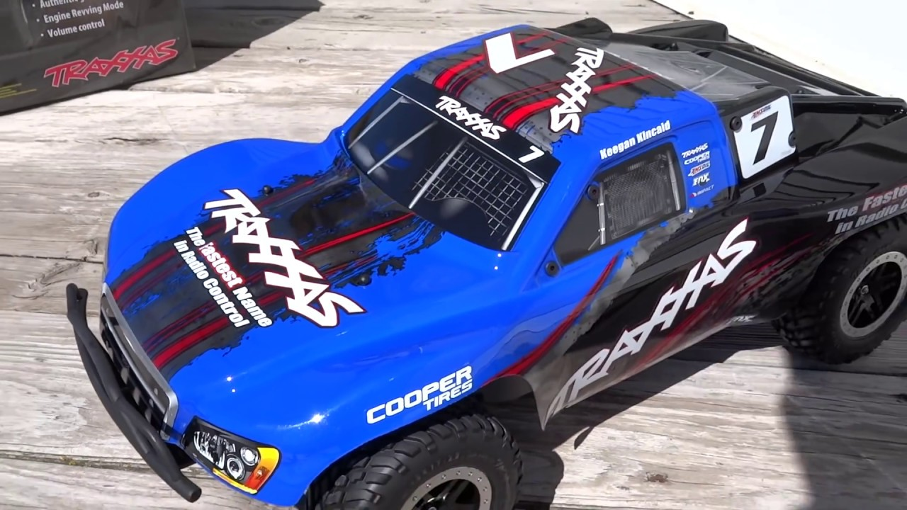 NEW 2015 Traxxas Slash 4x4 LCG BRUSHLESS with TSM and OBA UNBOXING! -  Netcruzer RC