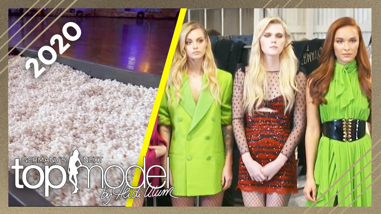 Fashionshow mit Popcorn Catwalk: Wer darf die Fashion Show beenden? | GNTM 2020 | ProSieben