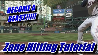 MASTER Zone Hitting!! - MLB The Show 18 Tutorial