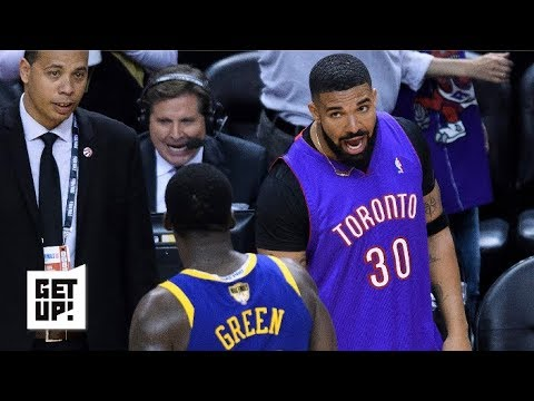Drake Is Being Such A Troll During the NBA Finals