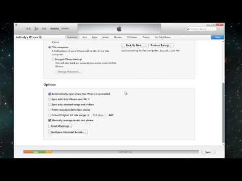 Como copiar musica & videos manualmente a iPod, iPhone o iPad (Nueva version iTunes)