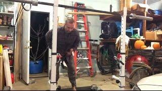 Nick Horowski Strongman Training 44 - Dynamic Effort Lower Body
