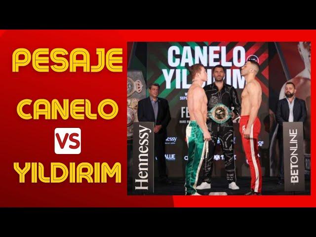 Canelo vs. Yildirim PESAJE - El Aviso Magazine. 2021