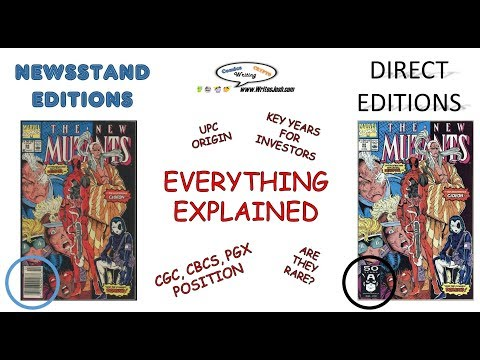 Comic Book Newsstand Editions and Direct Editions: Everything Explained