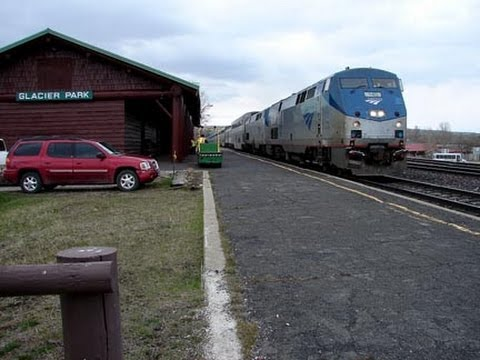 Amtrak's Empire Builder Day 2 Part 1 Sandpoint To East Glacier Park