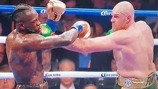 Tyson fury flick jab pure skill -