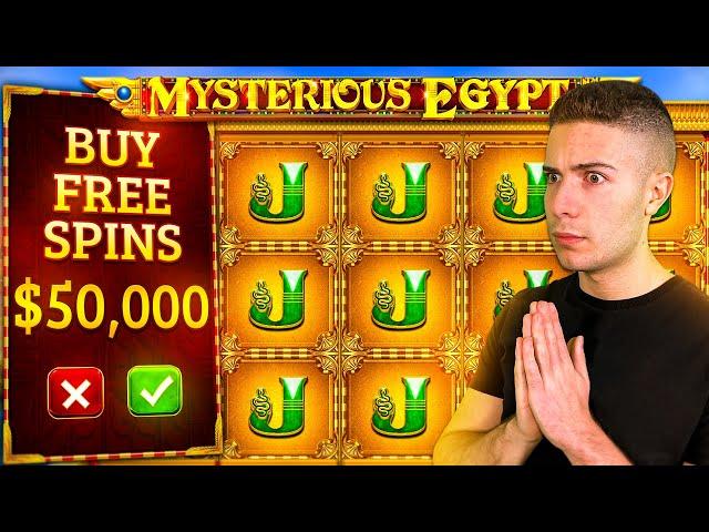 MASSIVE $50,000 MYSTERIOUS EGYPT BONUS BUY 🐍 ft. @Foss & JuicyFruityyy