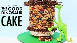 good dinosaur cake   how to make an arlo dinosaur cake