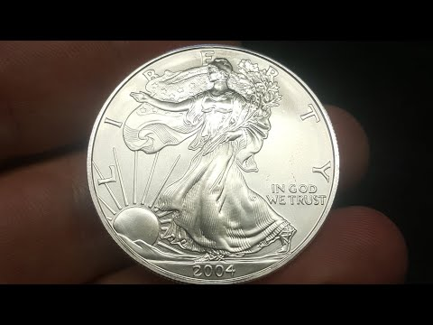 Making A Double Reeded, Size 13.5 Pure Silver Eagle Coin Ring. Sweetness!