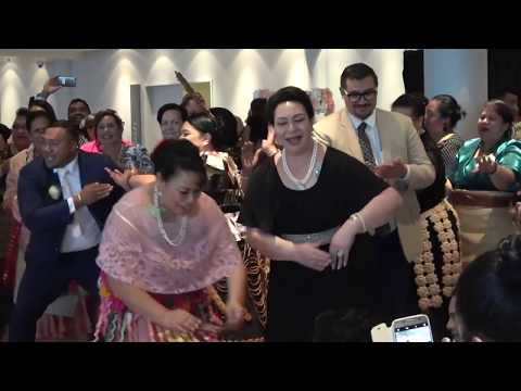 HRH Princess Pilolevu - Mahinafekite & Tongaleleka family - Tevita & Ivana Maka Wedding Celebration