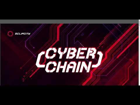 CYBER CHAIN Smart Cotract Tron TRX Presentazione Italy