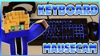 KEYBOARD & MOUSE CAM  [Minecraft Survival Games #44]