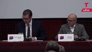 Obraćanje Vučića na Glavnom odboru SNS: Telegraf na licu mesta