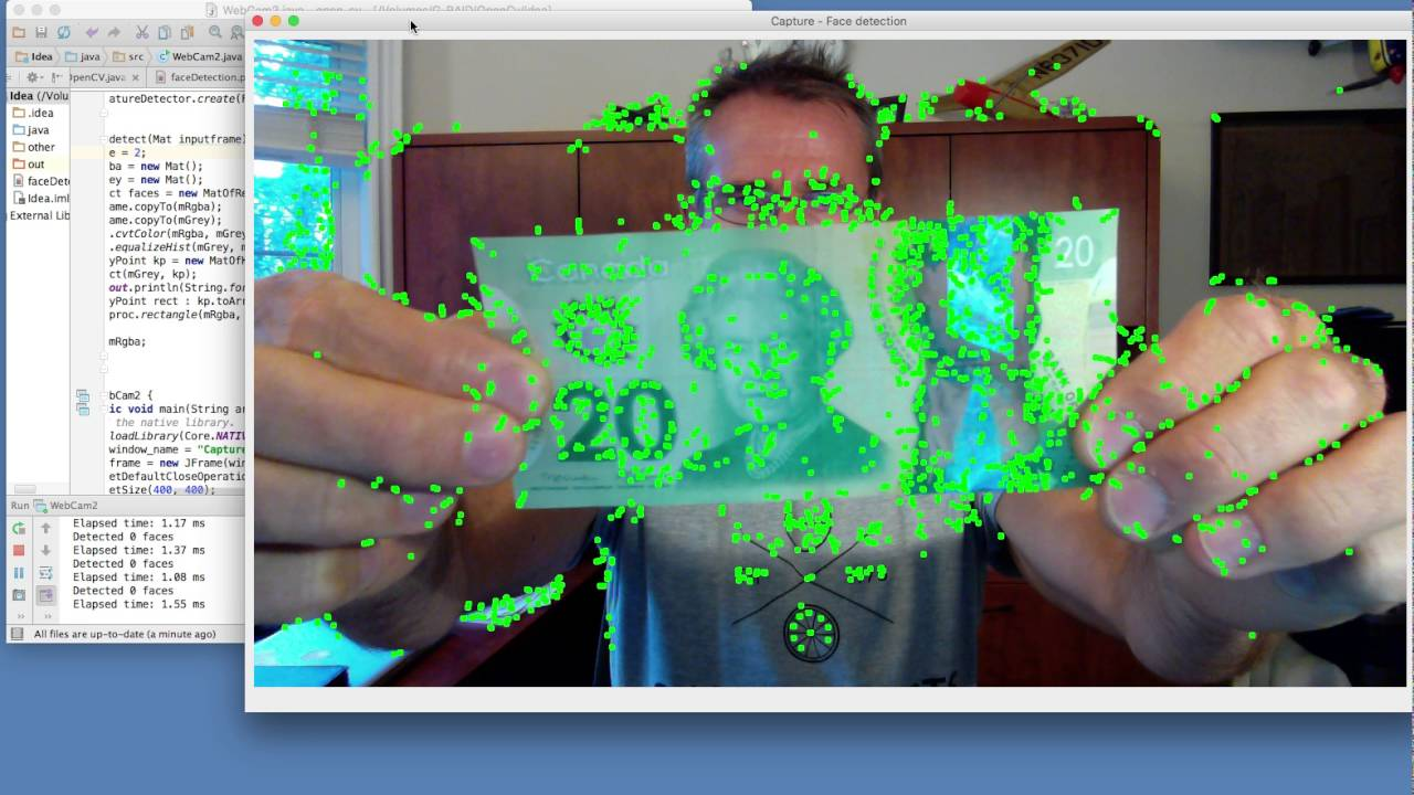 OpenCV AKAZE based features detection