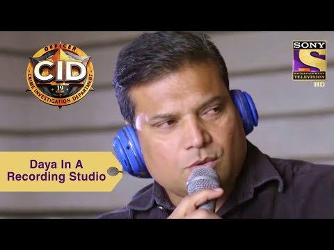 Your Favorite Character | Daya In A Recording Studio | CID