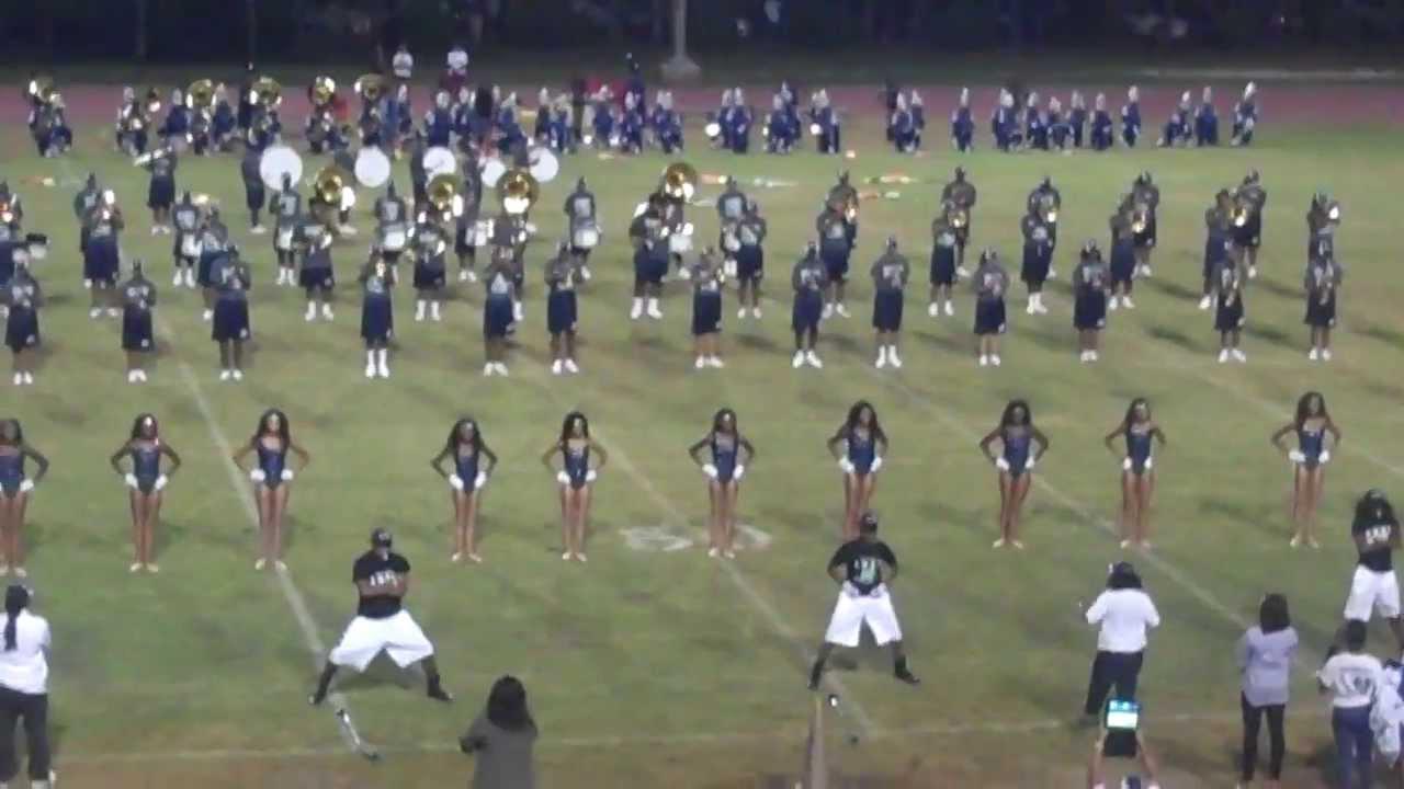 amhs marching band vs stephenson 2013 halftime show