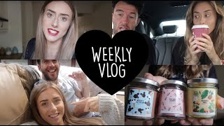 Date Night, Candles & Wedding Rings | Weekly Vlog