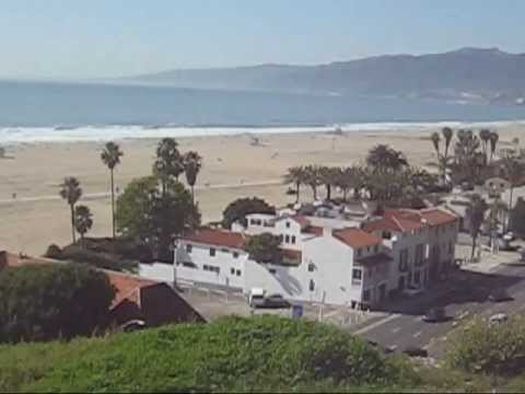 Santa Monica | Palisades Park | California Incline | Ocean Front Walk