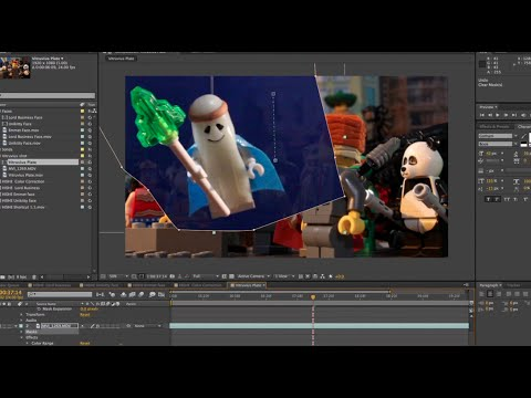Combining Stop-Motion with Live-Action Movement (Behind the Scenes of
