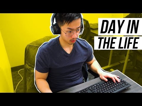 Day In The Life Of A Videographer/Video Editor (VLOG)