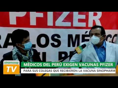 MEDICOS EXIGEN VACUNAS PFIZER