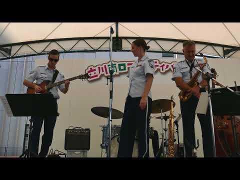 ジャズコンボ ワット・ア・ディファレンス・ア・デイ・メイド(4K-UHD)アメリカ空軍太平洋音楽隊アジア パシフィック・ショーケース・コンボ What a Difference a Day Made