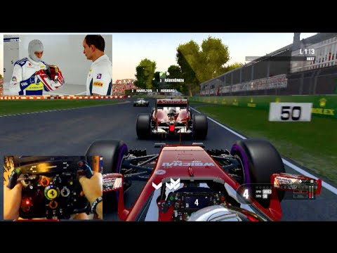 f1 2016 w f1thrustmaster rim career mode ps4 first. Black Bedroom Furniture Sets. Home Design Ideas