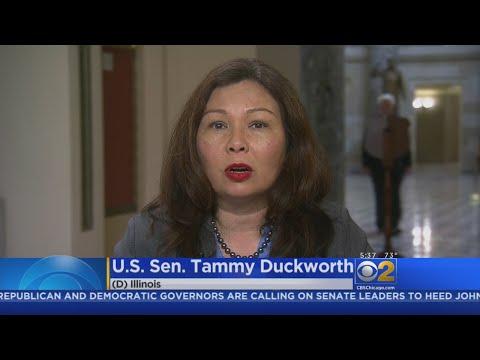 IL Senator Tammy Duckworth Criticizes Trump