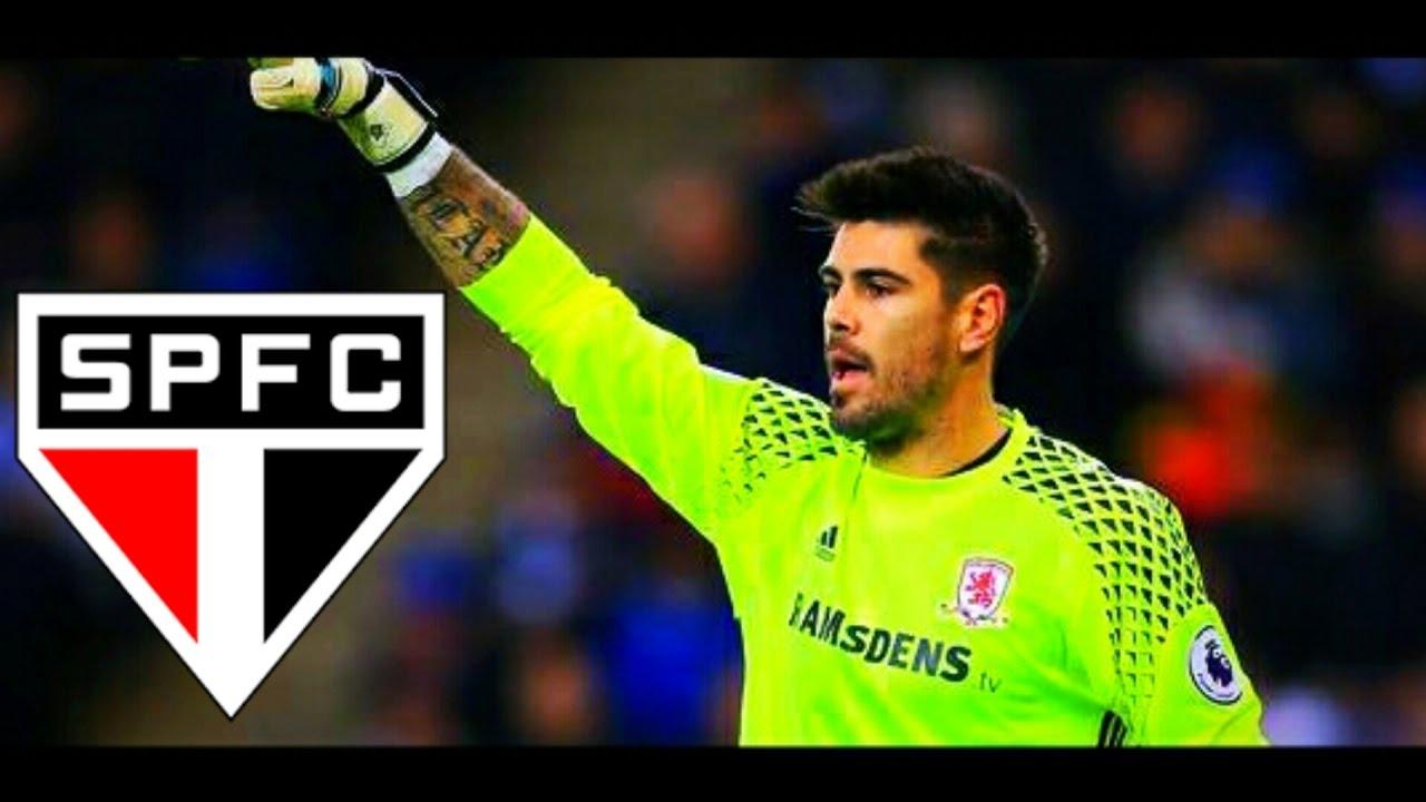 Victor Valdes ○ Bem Vindo Ao S£o Paulo FC ○ 2017 HD