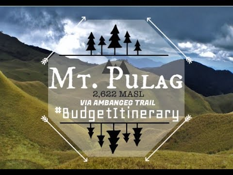 MT. PULAG VIA AMBANGEG TRAIL (with complete BUDGET ITINERARY)