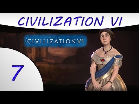 Civilization 6 Gameplay -Part 7- England - Victoria - Culture Victory
