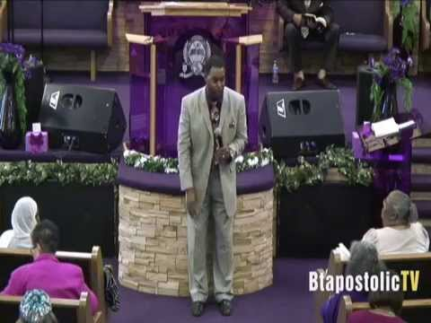 """Bishop Marcus E. Burns Preaching """"A Persistent Person"""""""