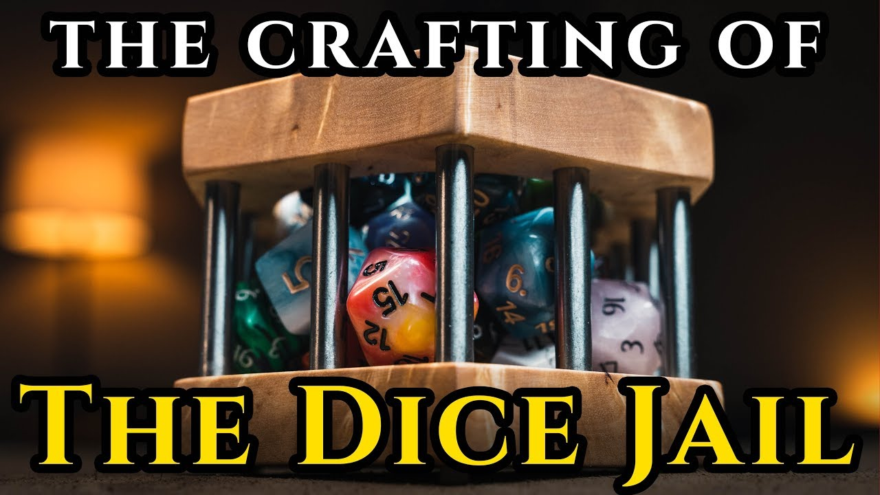 Crafting of The Very First Wyrmwood Dice Jail!