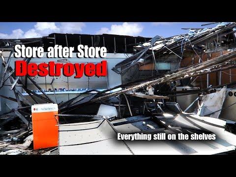 Panama City, Florida after Hurricane Michael