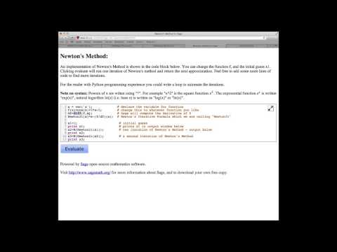 Math150/151 Section 4.7 Newton's Method