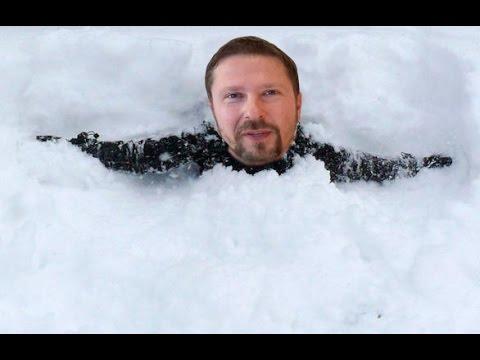 Искаженная реальность и снегопад