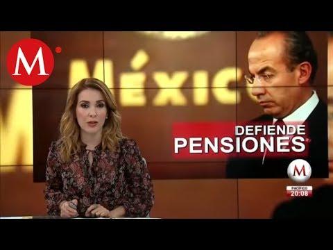 Felipe Calderón justifica la pensión a ex presidentes