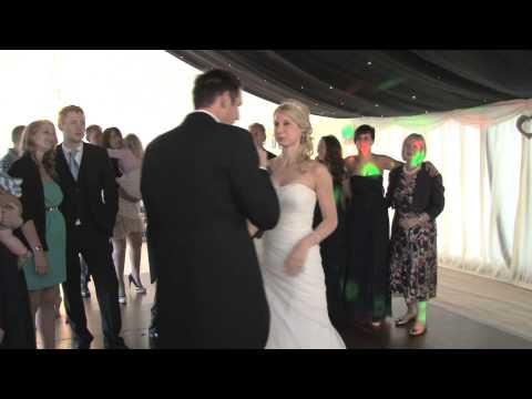 Groom surprises his Bride on their Wedding day and sings Ronan Keating's When You Say Nothing At All